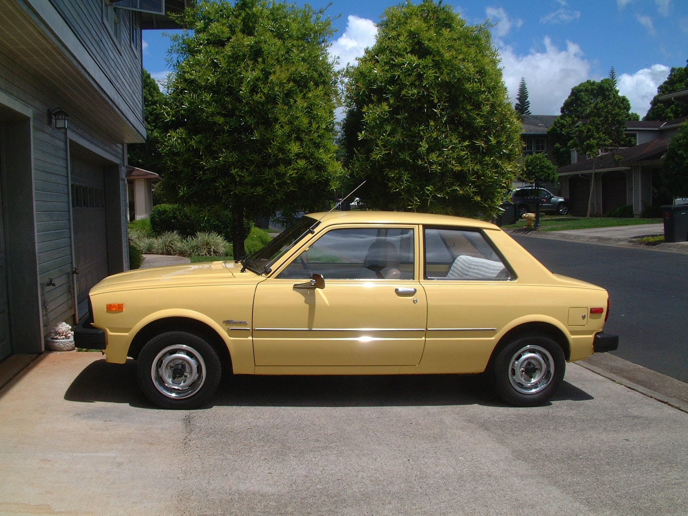 1980 Toyota Tercel - Information and photos - MOMENTcar