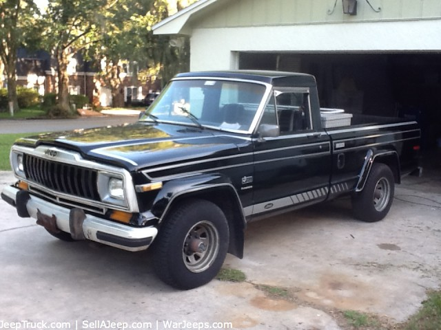 Jeep J10 For Sale