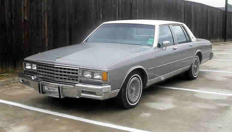 1983 Chevrolet Caprice Classic Information And Photos Momentcar