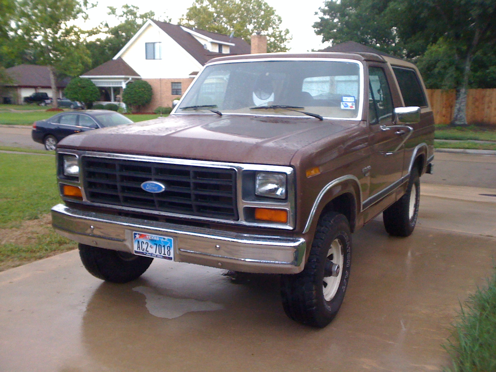 1984 ford bronco information and photos momentcar