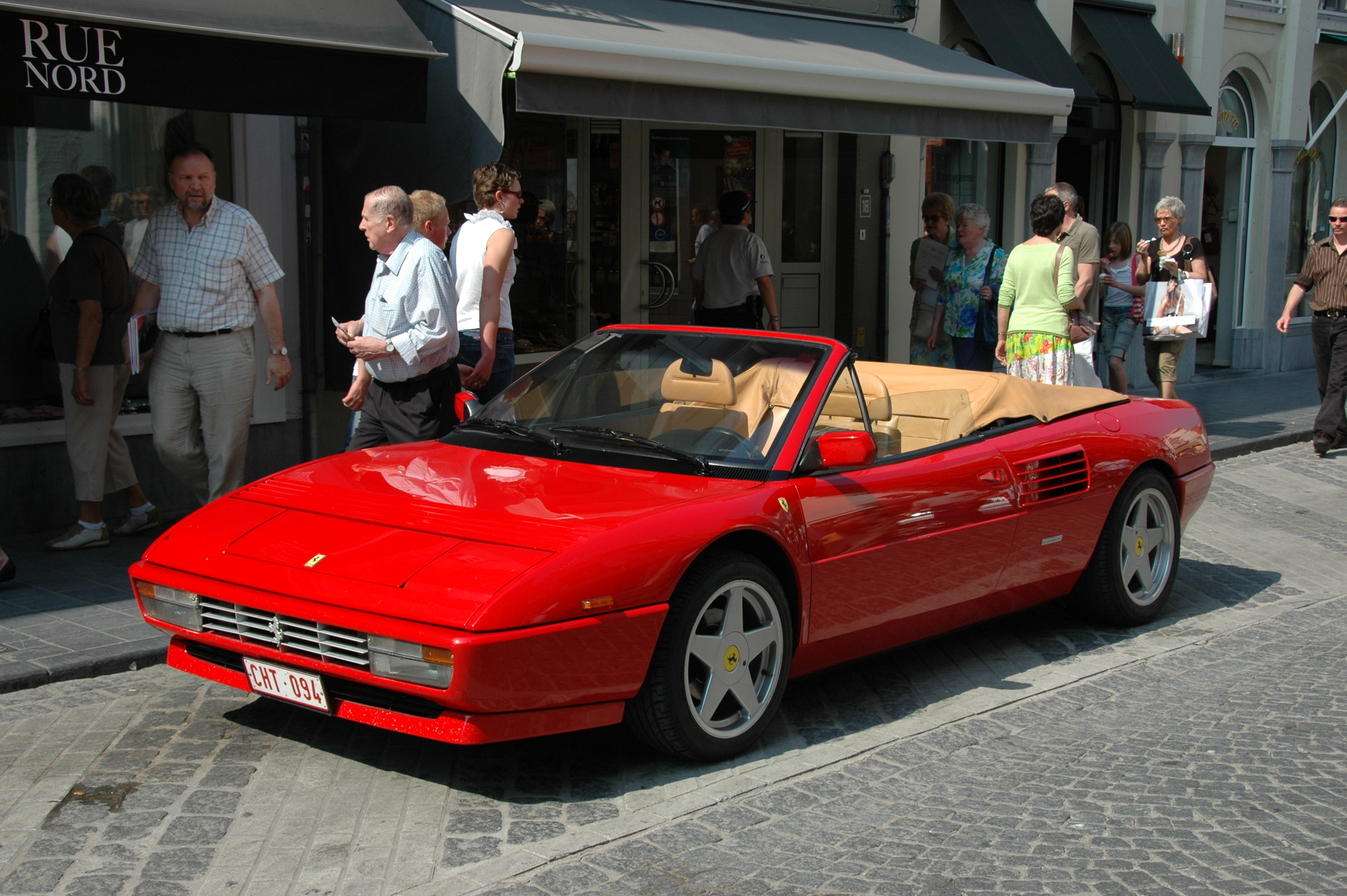1984 ferrari mondial information and photos momentcar #0: 1984 mondial 2