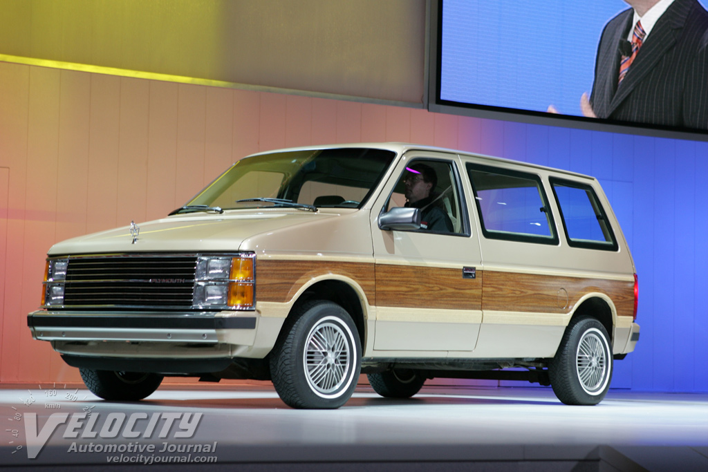 1984 Plymouth Voyager Information And Photos Momentcar