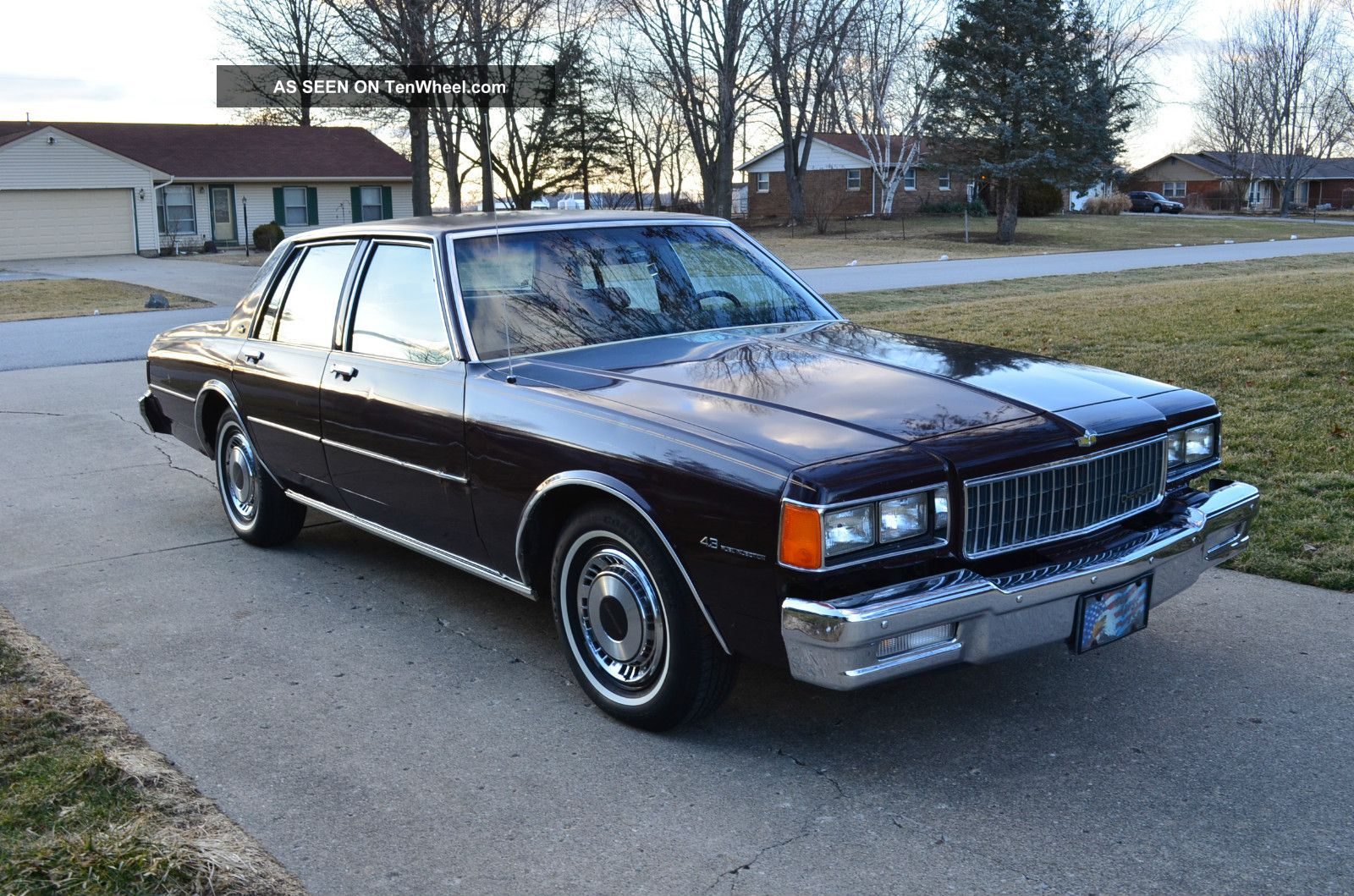 1985 chevrolet caprice classic information and photos momentcar. Black Bedroom Furniture Sets. Home Design Ideas