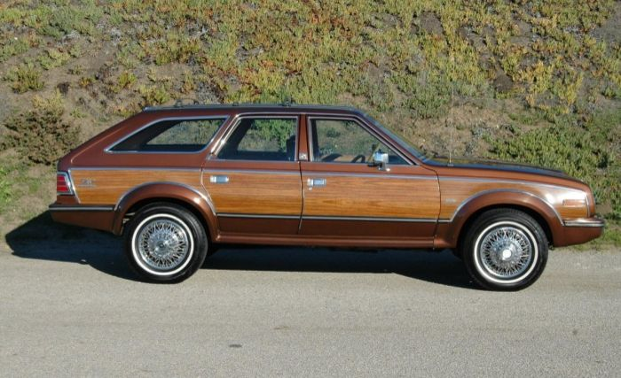 1985 American Motors Eagle - Information and photos ...