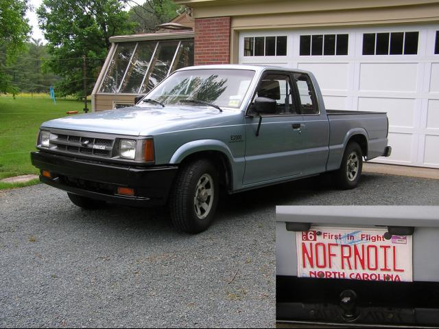 Hudson Nissan Nj >> 1987 Mazda B2000 - Information and photos - MOMENTcar