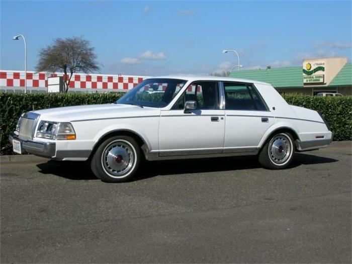 1987 Lincoln Continental - Information and photos - MOTcar