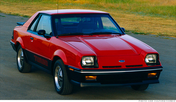 1987 Ford Exp Information And Photos Momentcar