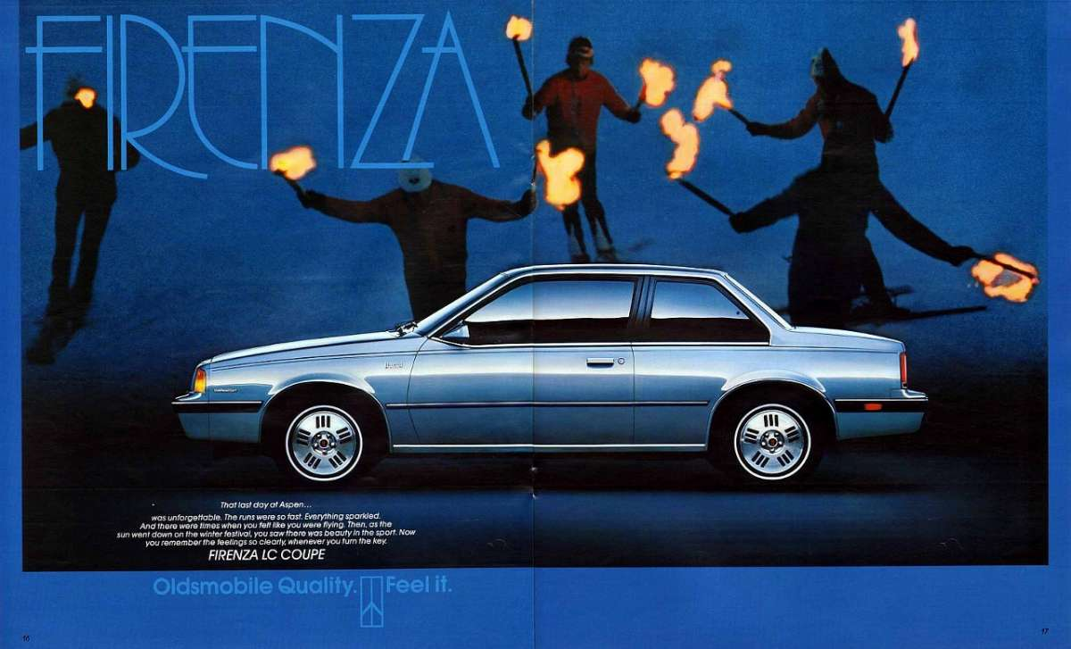 1987 Oldsmobile Firenza Information And Photos Momentcar