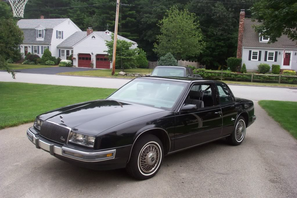 Riviera on 1987 Buick Century