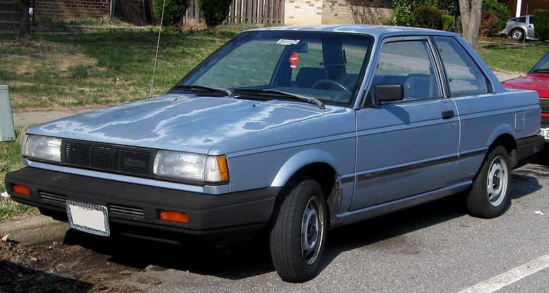 1987 nissan sentra - information and photos