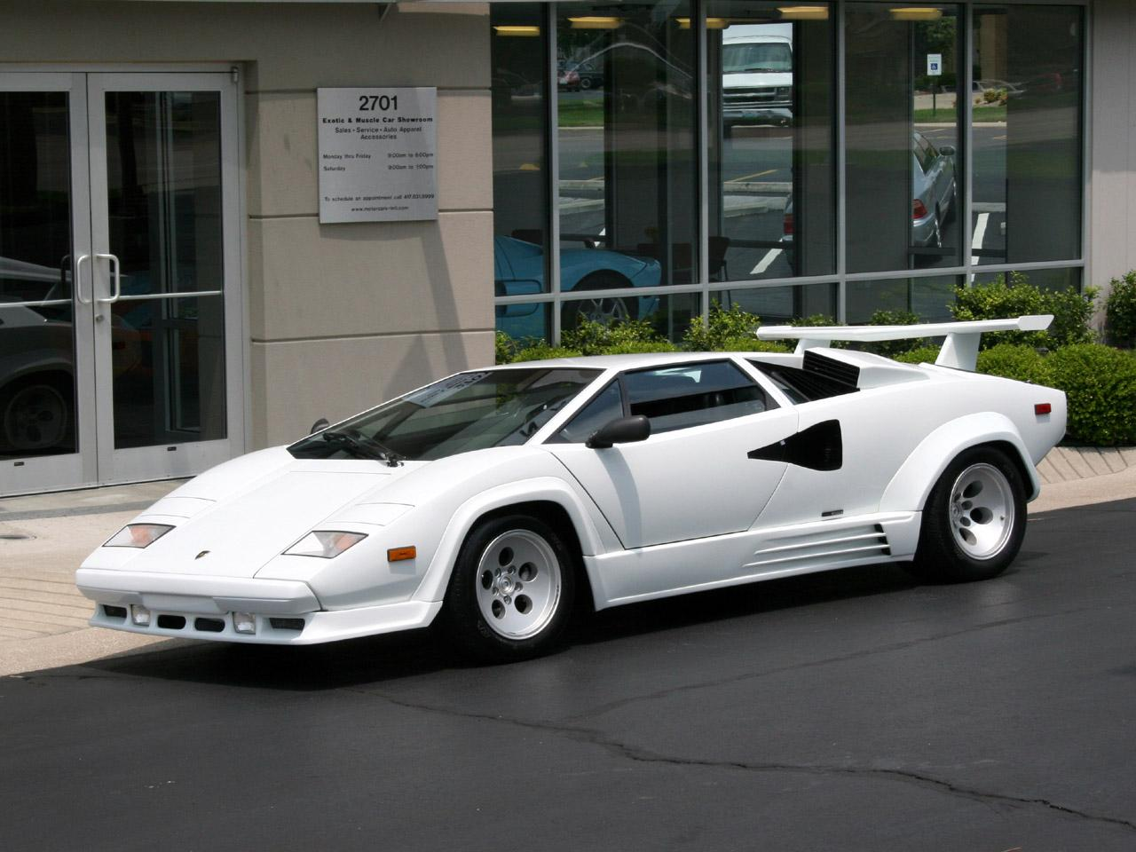 1988 Lamborghini Countach Information And Photos Momentcar