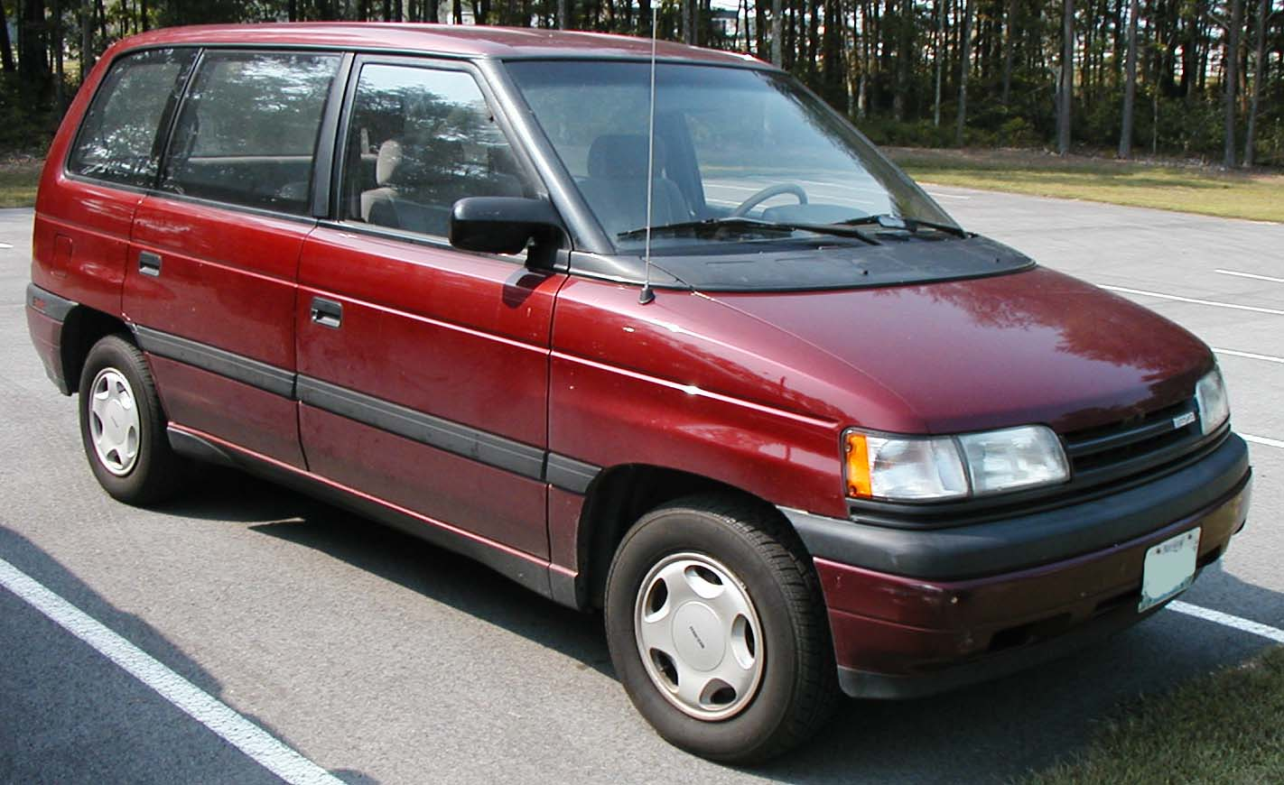 1989 Mazda Mpv Information And Photos Momentcar