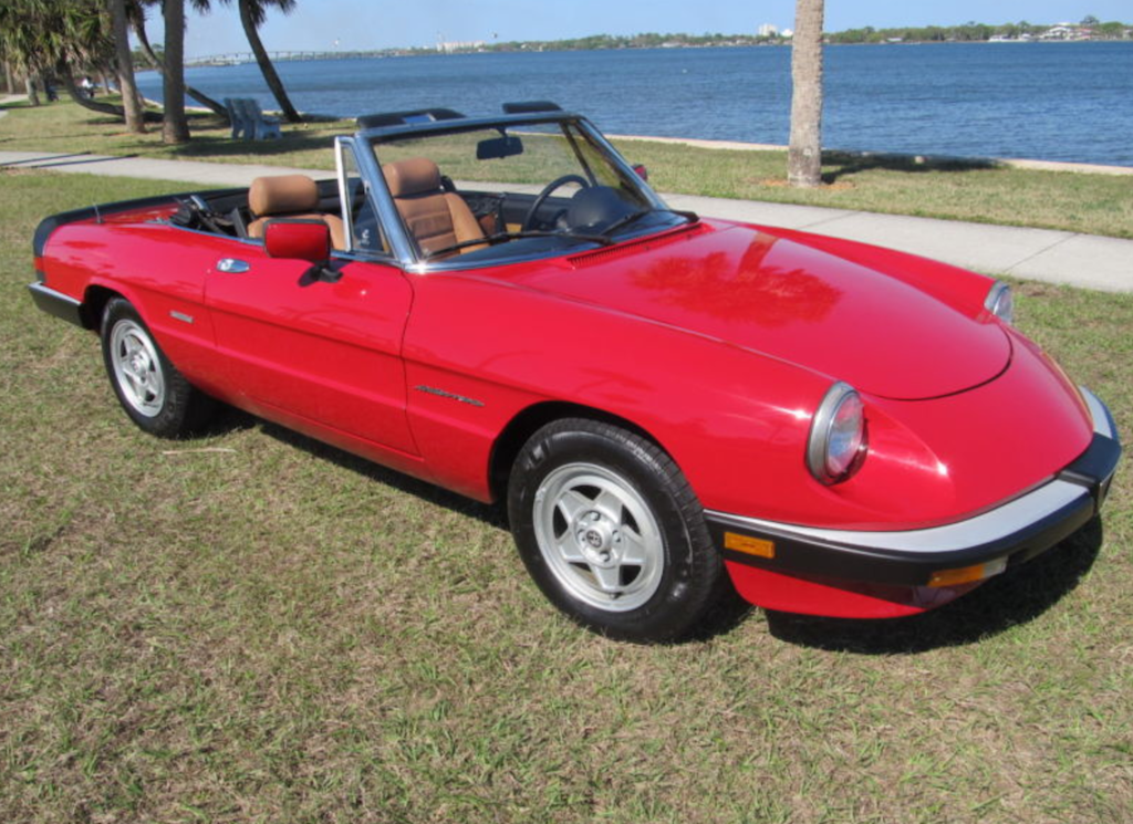 For Sale Gorgeous 78 Alfa Spider FOR SALE amp AUCTION  Alfa