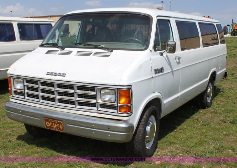 1990 Dodge Ram Van Information And Photos Momentcar