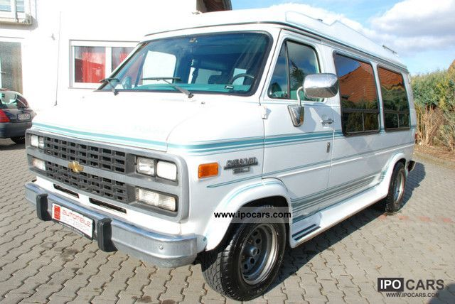 Used 1991 Chevrolet Chevy Van G20 Conversion for Sale - Stock ...