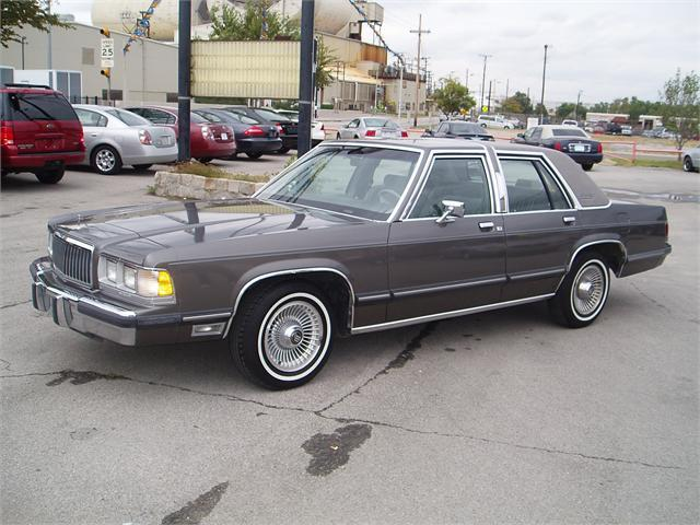 1991 Mercury Grand Marquis  Information and photos  MOMENTcar