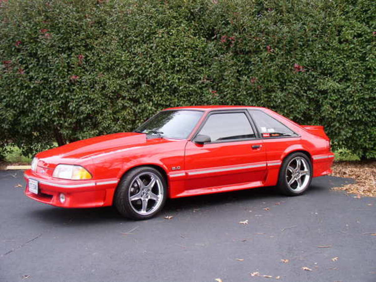 1993 Ford Mustang Information And Photos Momentcar