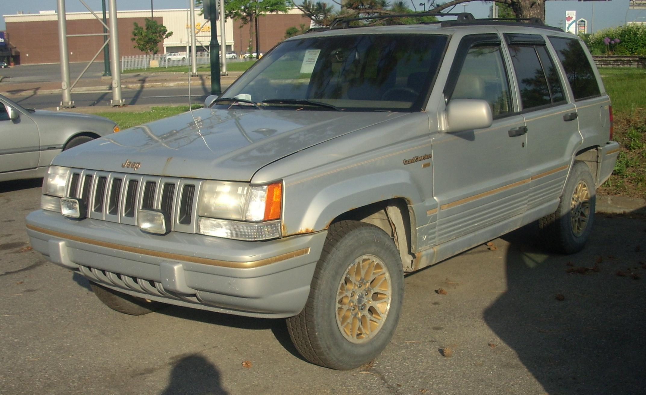 1995 jeep grand cherokee information and photos momentcar. Black Bedroom Furniture Sets. Home Design Ideas