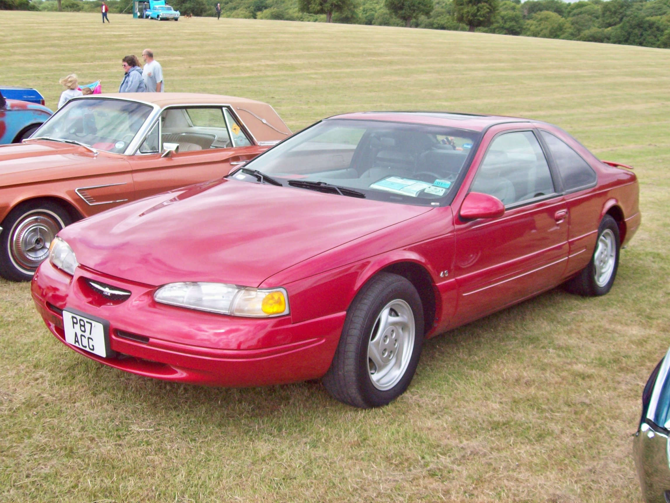 1997 ford thunderbird information and photos momentcar. Cars Review. Best American Auto & Cars Review