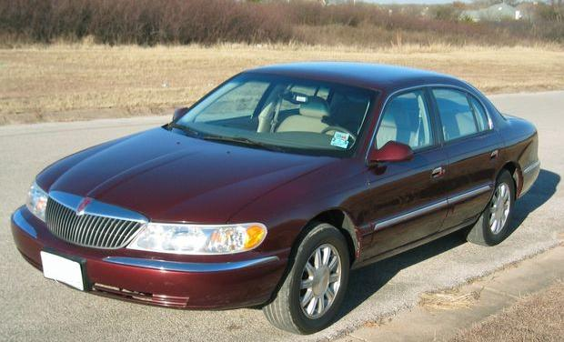 2000 Lincoln Continental - Information and photos - MOTcar