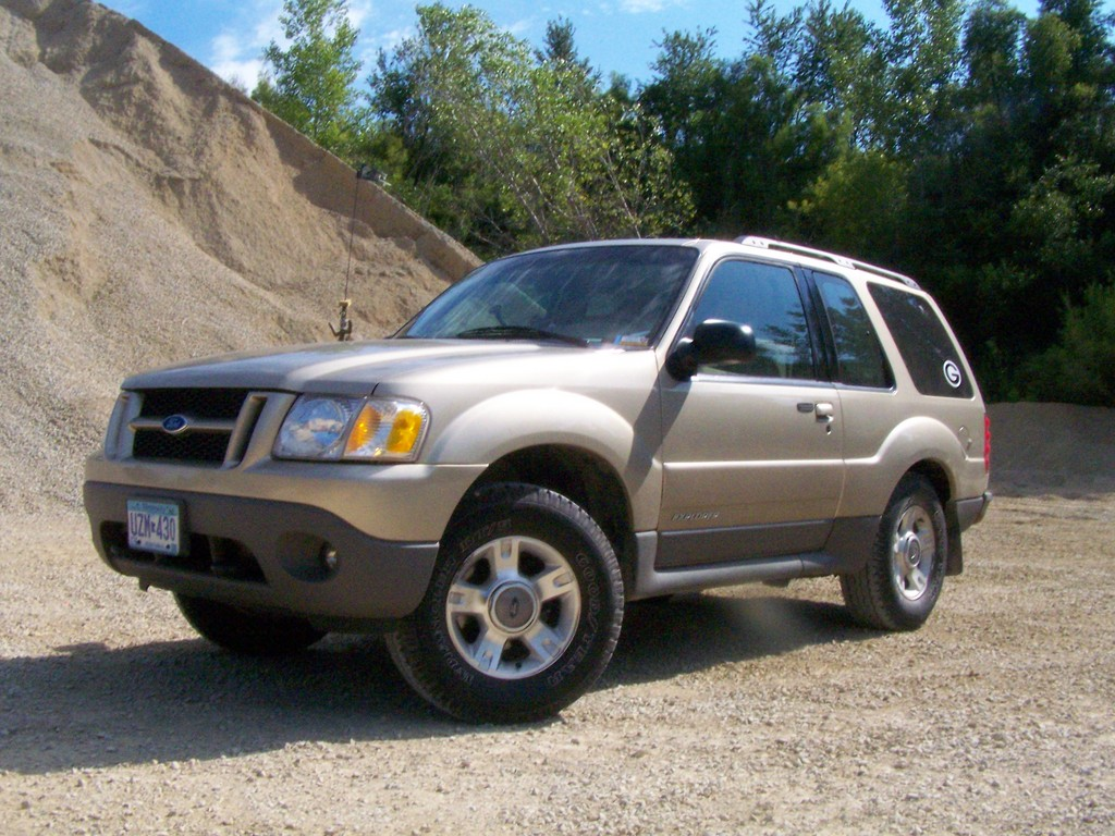2001 Ford Explorer Sport Information And Photos Momentcar