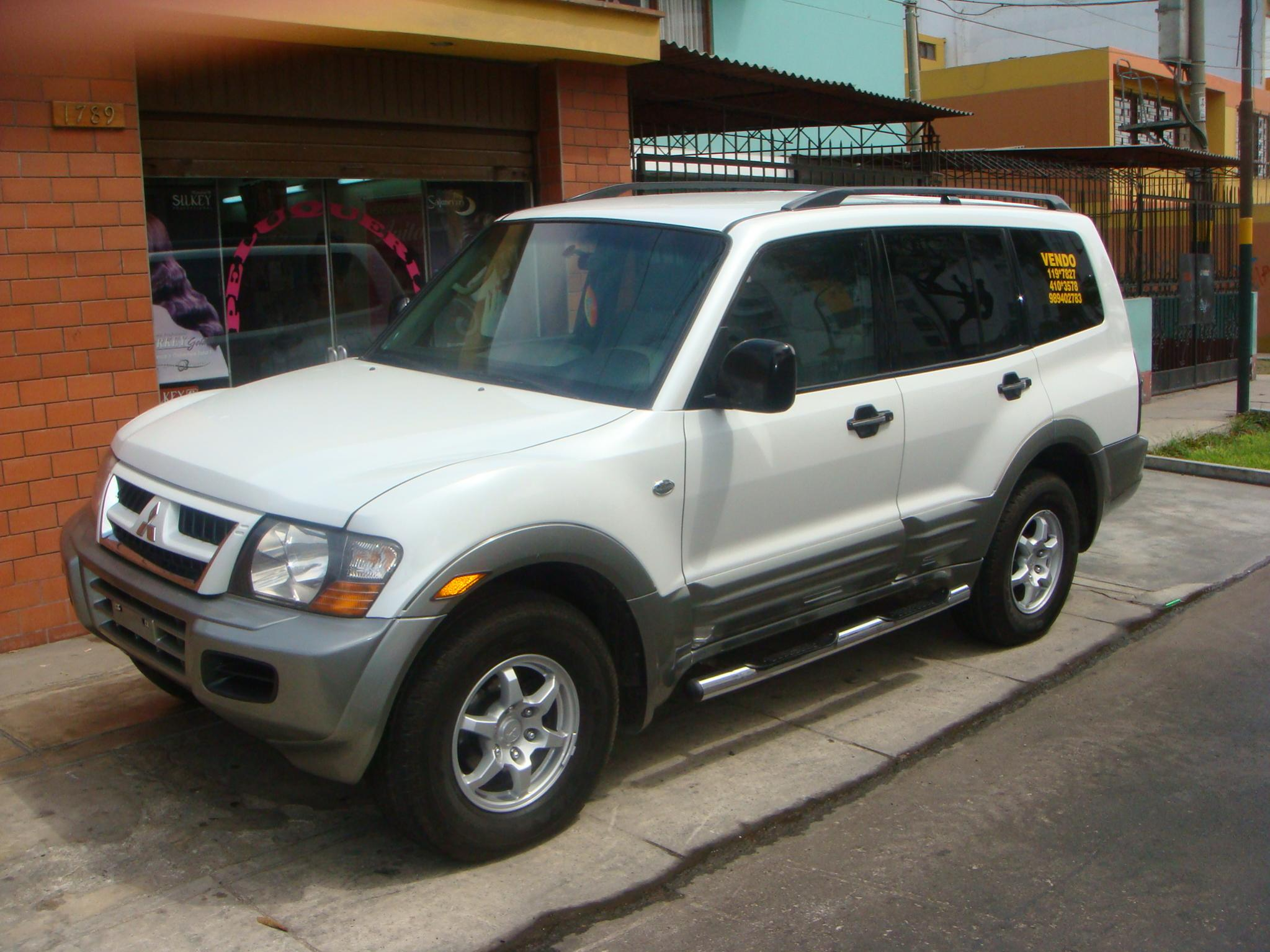 2002 mitsubishi montero - information and photos - momentcar
