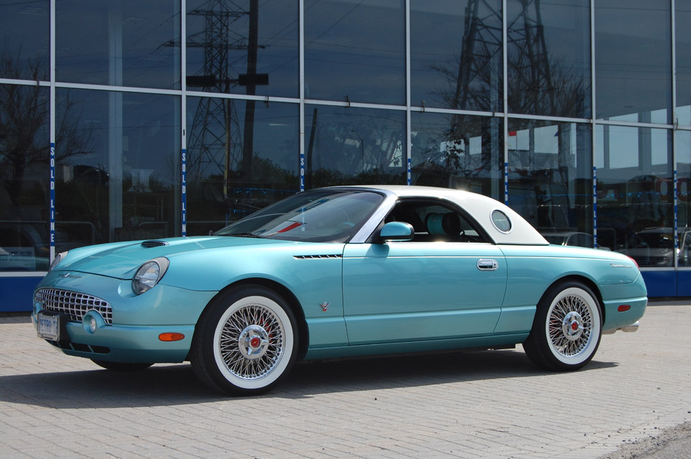2002 Ford Thunderbird Reviews And Rating Motor Trend