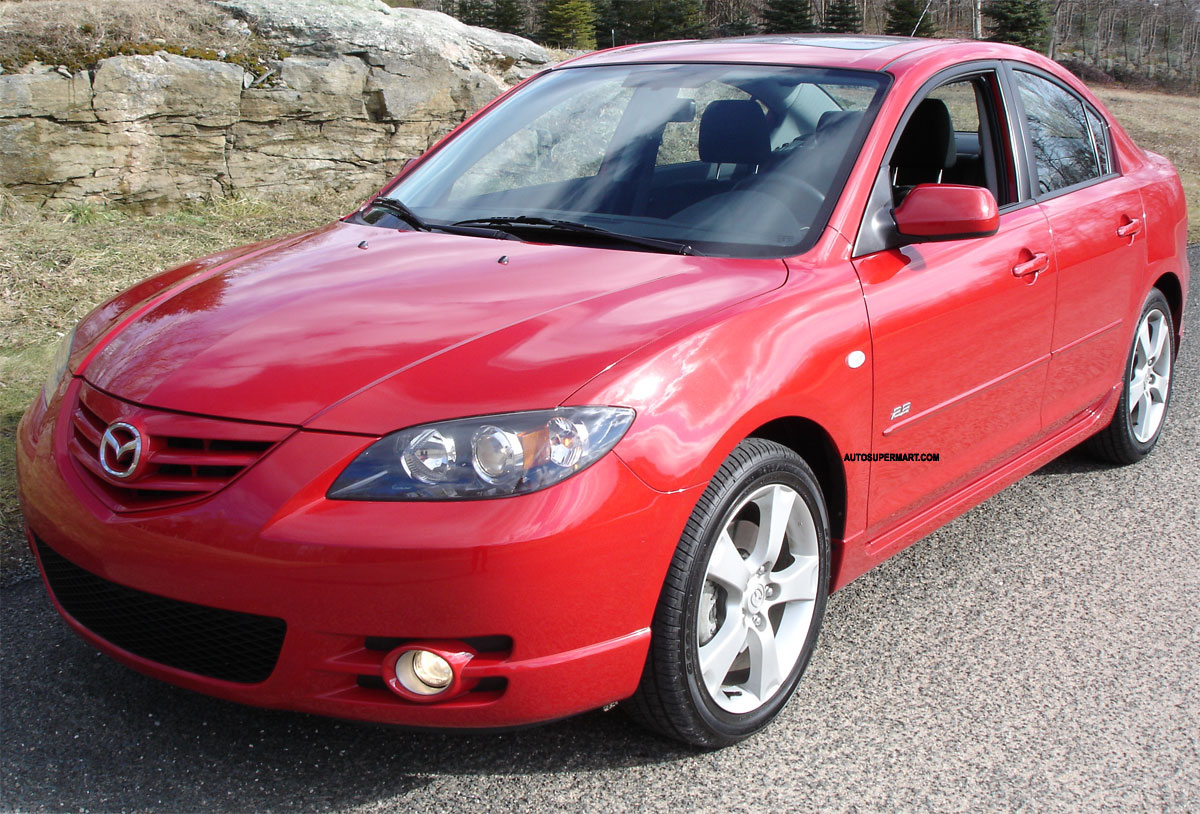 2005 mazda mazda3 information and photos momentcar. Black Bedroom Furniture Sets. Home Design Ideas