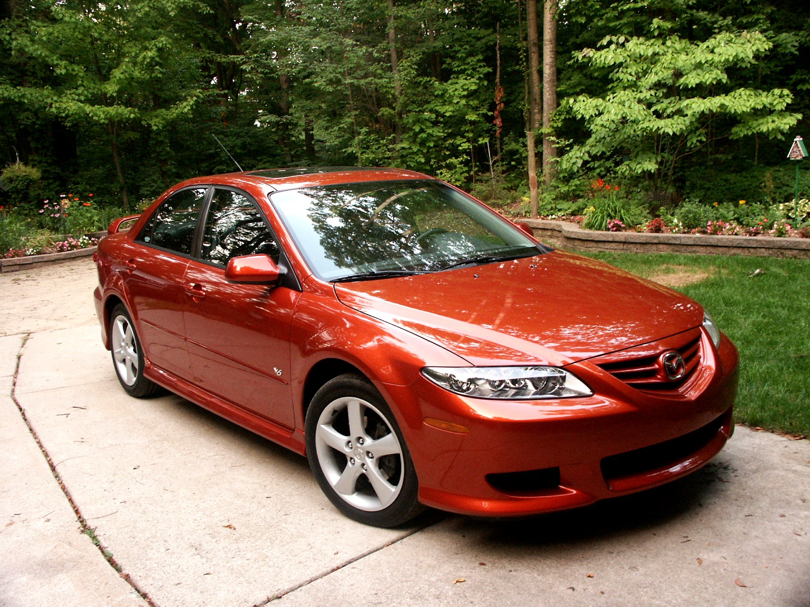 2005 mazda mazda6 information and photos momentcar. Black Bedroom Furniture Sets. Home Design Ideas