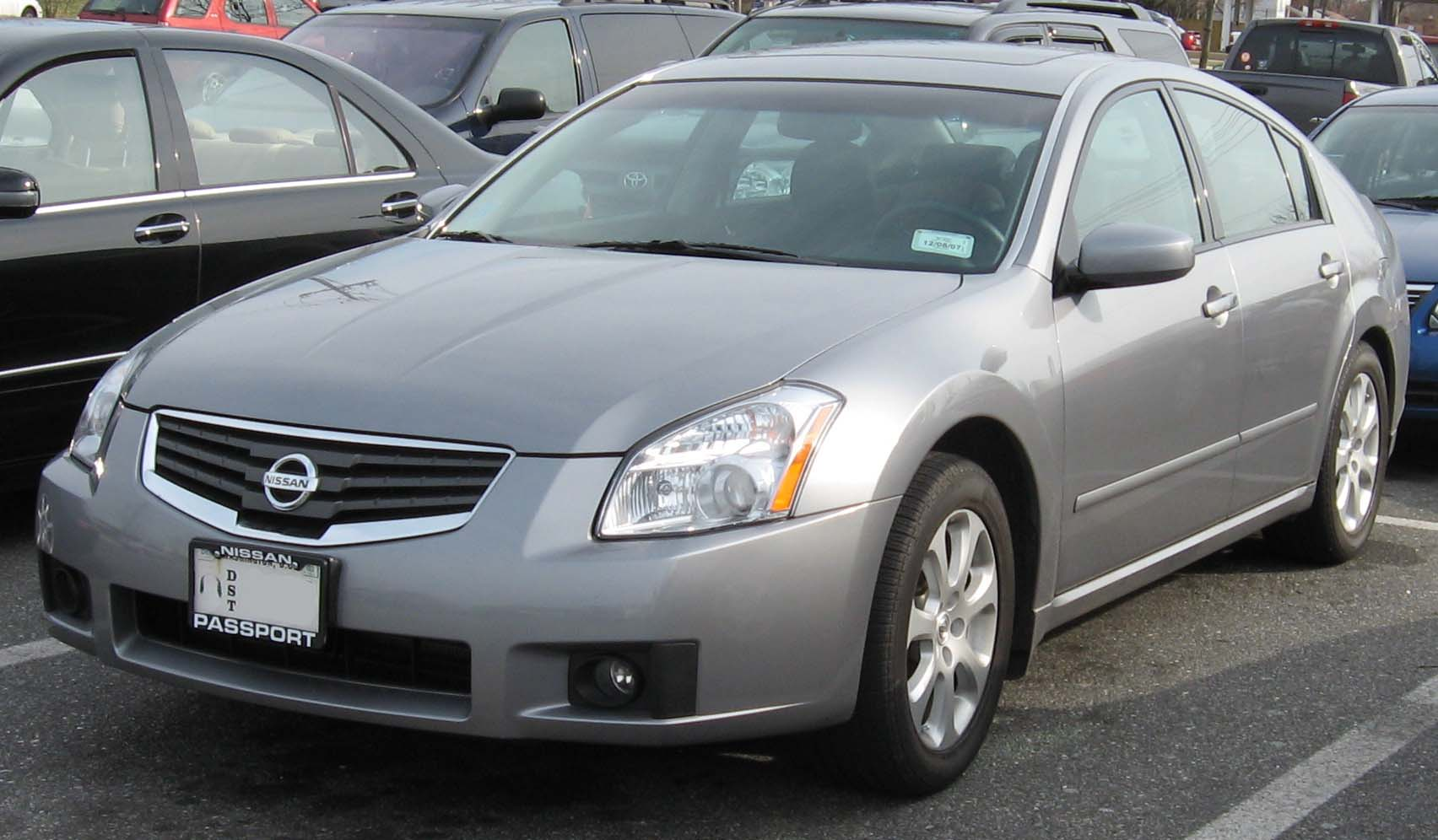 2007 Nissan Maxima Information And Photos Momentcar