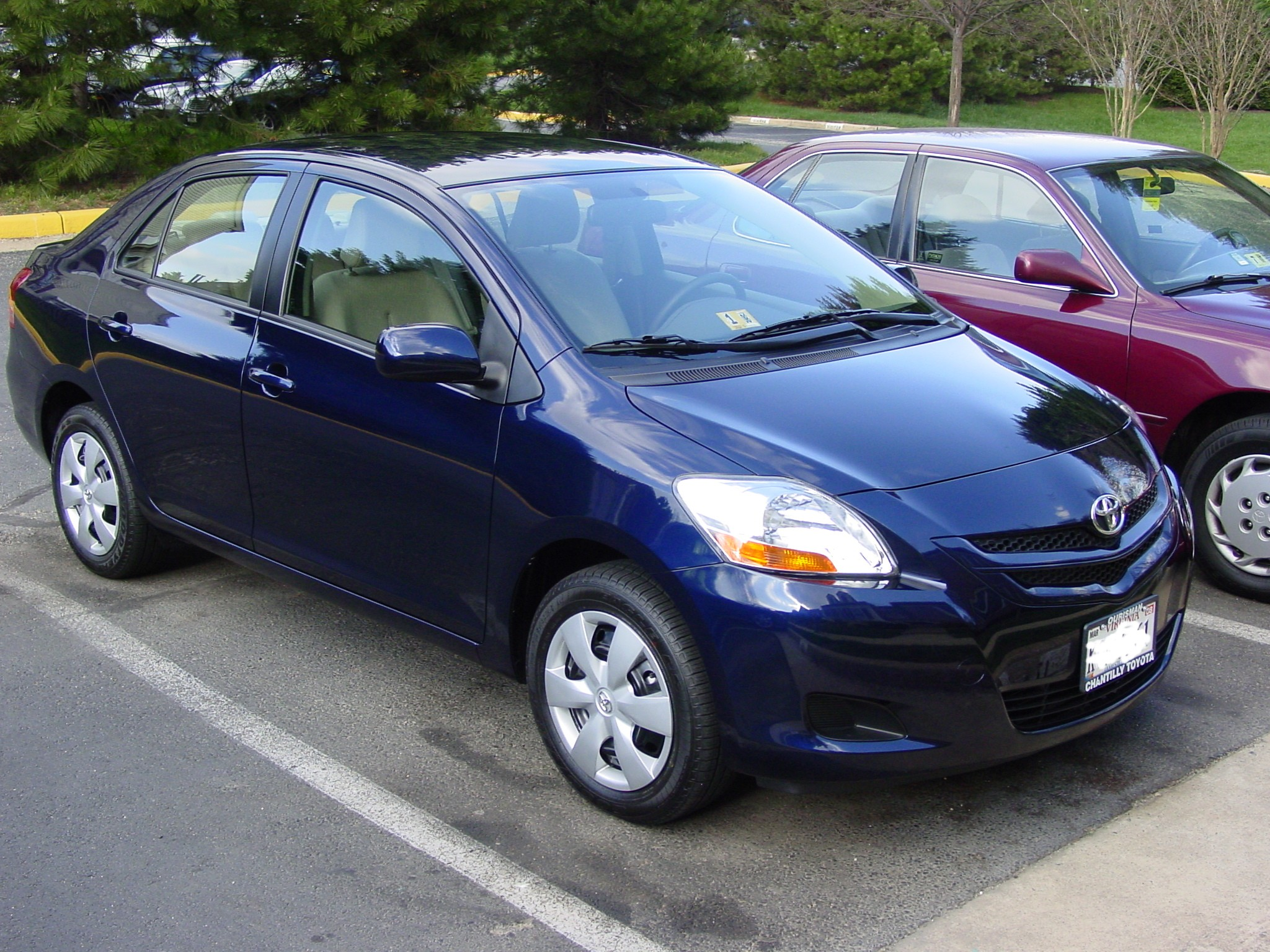 2007 toyota yaris information and photos momentcar. Black Bedroom Furniture Sets. Home Design Ideas