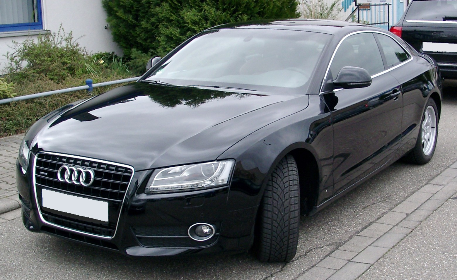 2008 audi a5 information and photos momentcar. Black Bedroom Furniture Sets. Home Design Ideas