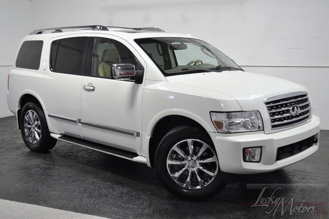 2008 infiniti qx56 white 200 interior and exterior images. Black Bedroom Furniture Sets. Home Design Ideas
