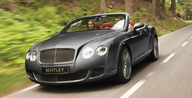 Bentley Continental GTC Speed #5