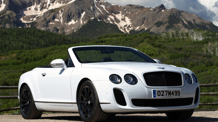 2011 Continental Supersports Convertible #1