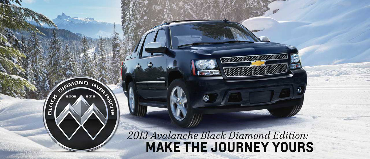Chevrolet Black Diamond Avalanche #13