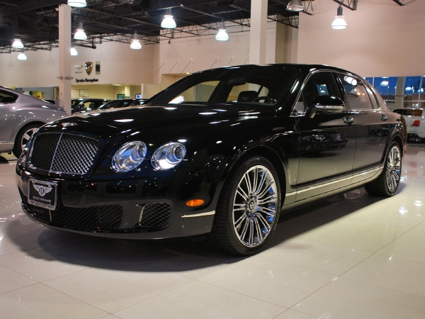 2013 Continental Flying Spur Speed #8
