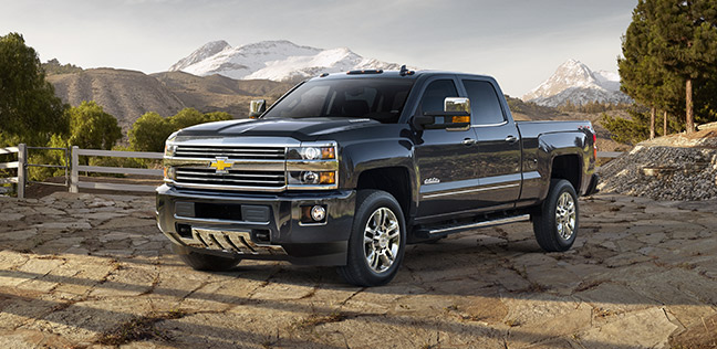 2015 Chevrolet Silverado 2500HD - Information and photos ...