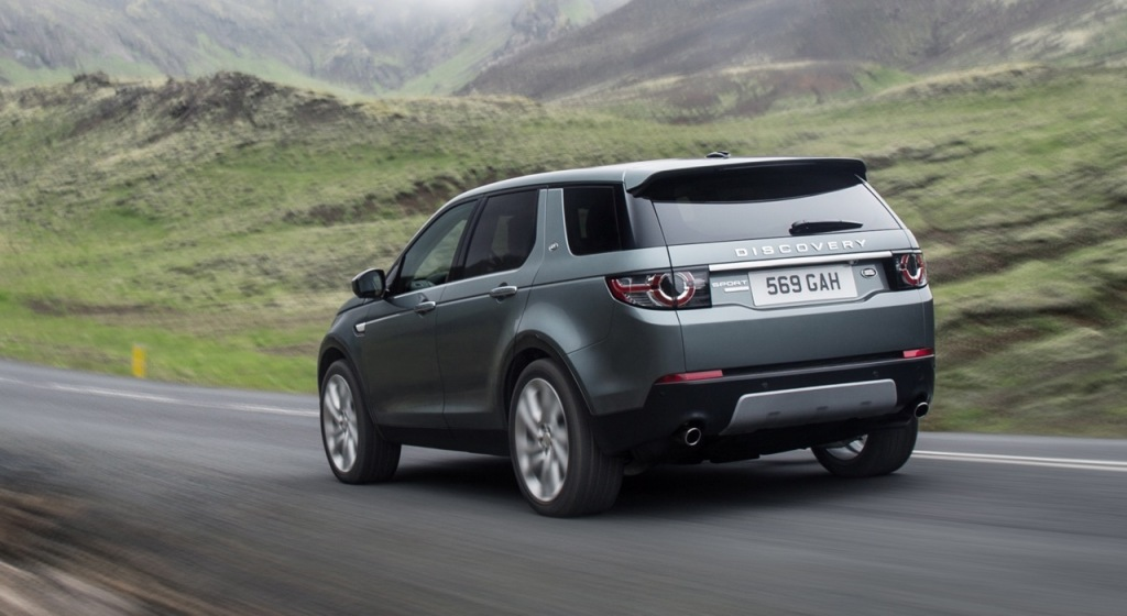 2016 land rover discovery sport information and photos. Black Bedroom Furniture Sets. Home Design Ideas