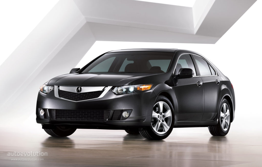 Acura 2008 TL boosting the confidence of the driver #5