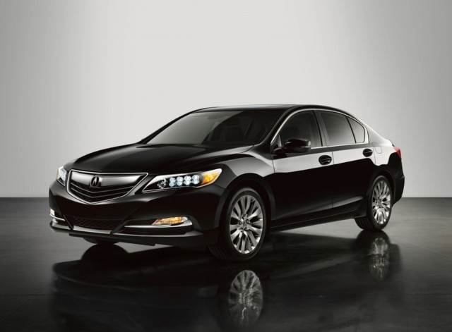 Acura 2014 MDX provides better aerodynamics #1