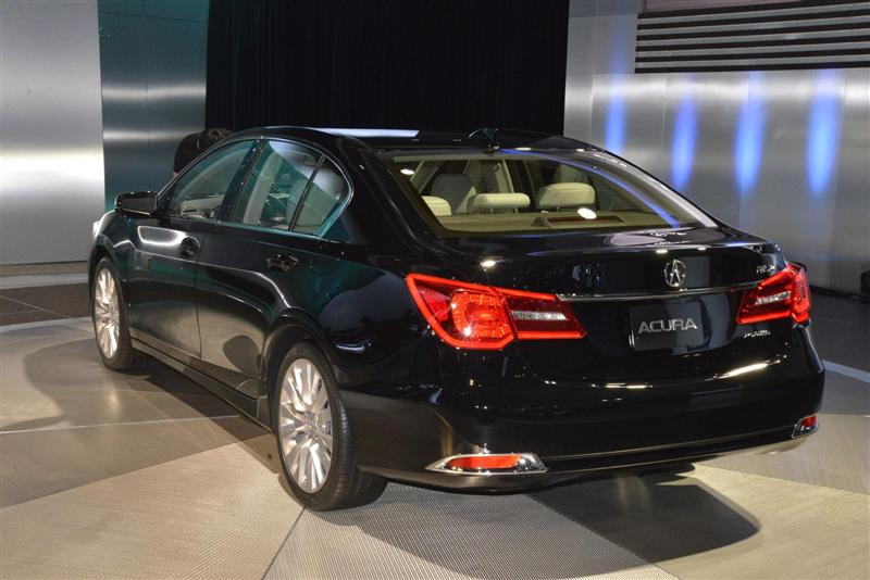 Acura 2014 MDX provides better aerodynamics #7