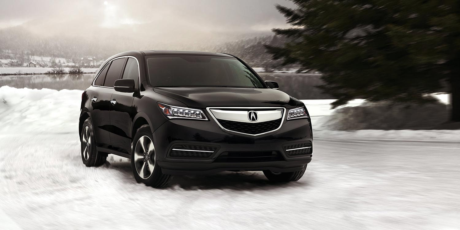 Acura 2014 MDX provides better aerodynamics #9