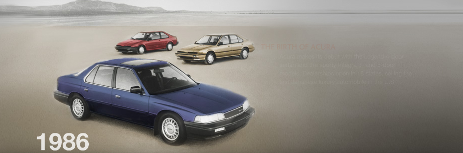 1986 Acura Legend - Information and photos - MOMENTcar