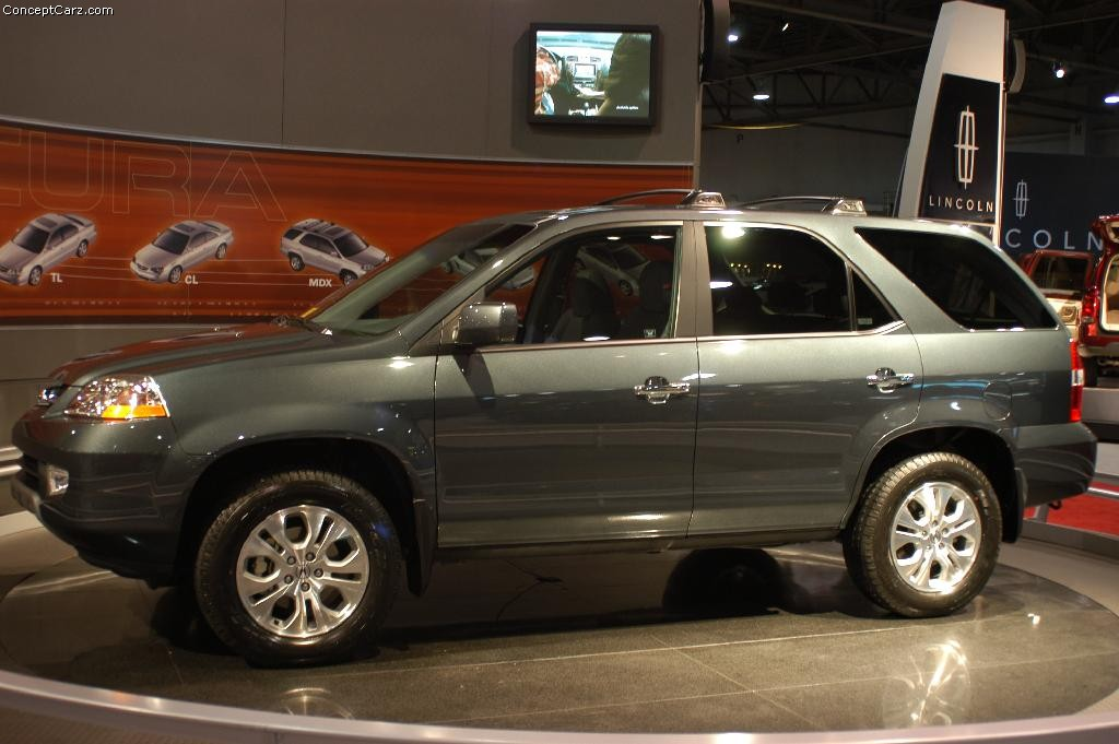 2003 acura mdx information and photos momentcar. Black Bedroom Furniture Sets. Home Design Ideas