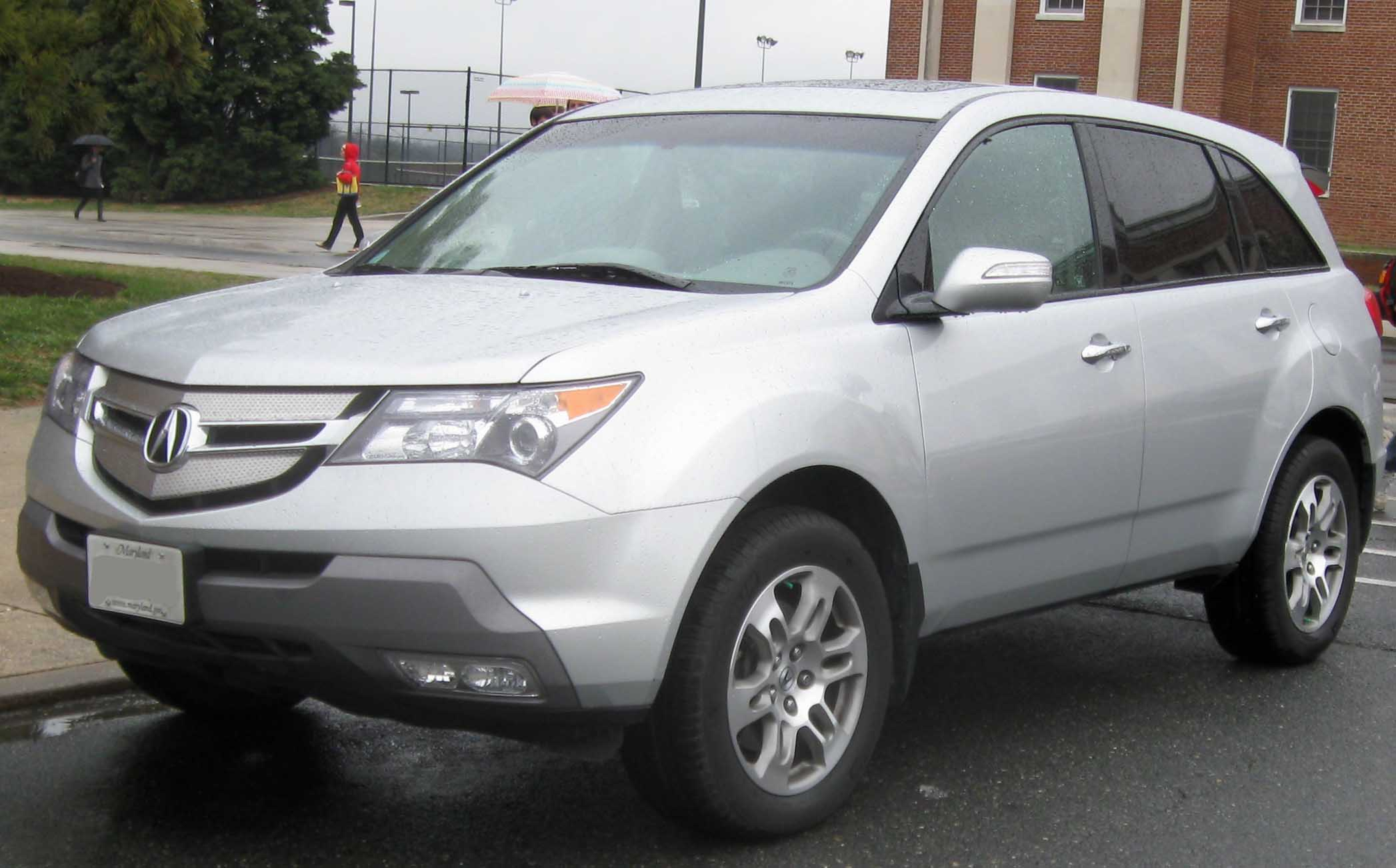2009 acura mdx information and photos momentcar. Black Bedroom Furniture Sets. Home Design Ideas
