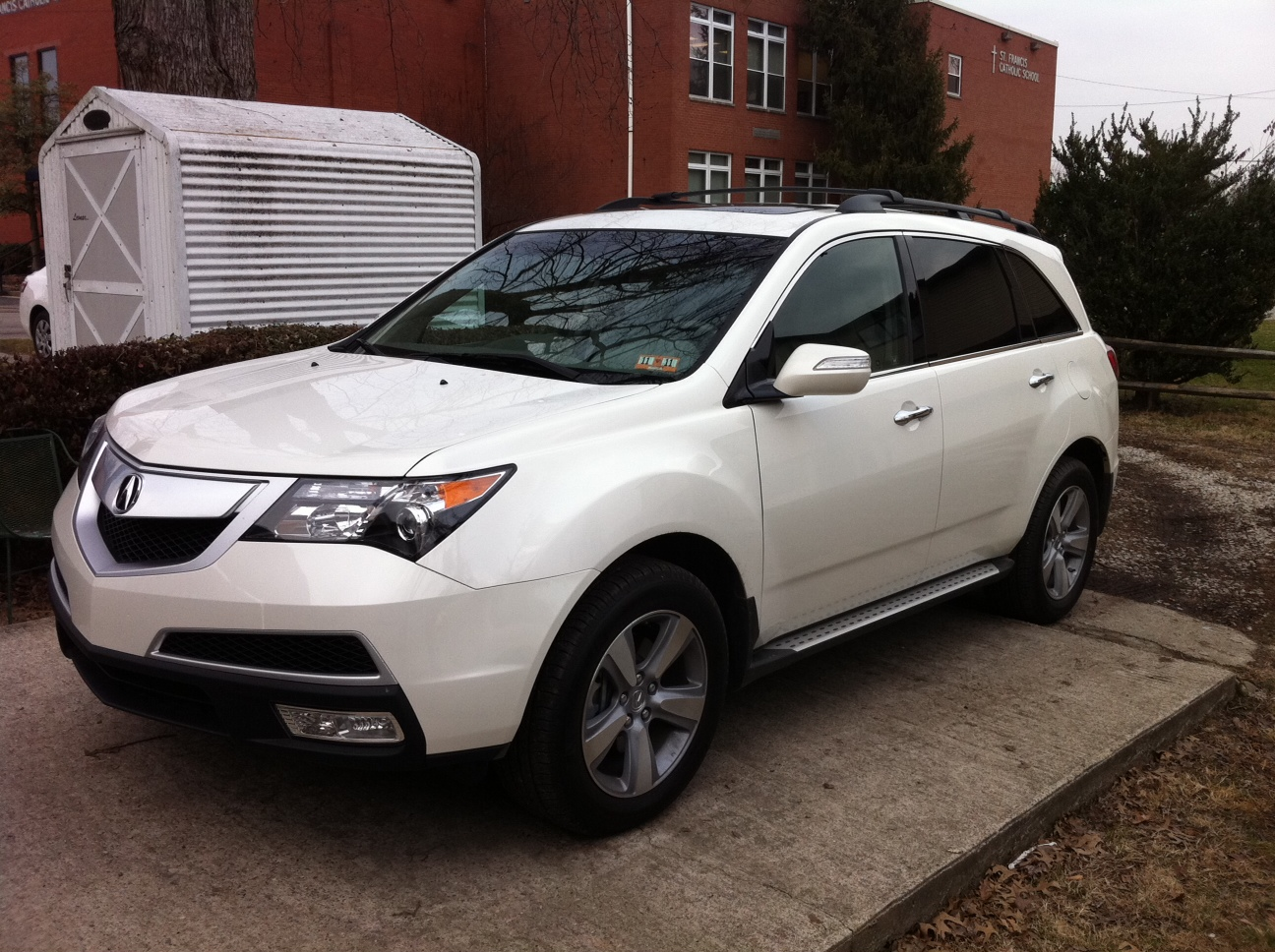 2011 acura mdx information and photos momentcar. Black Bedroom Furniture Sets. Home Design Ideas
