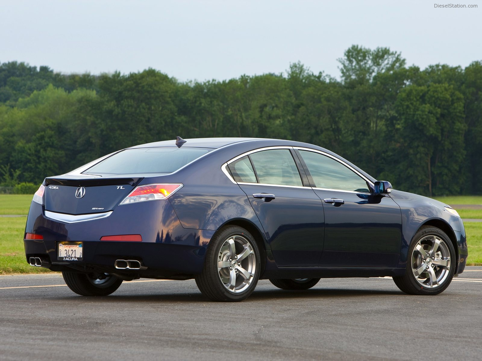 2009 acura tl information and photos momentcar