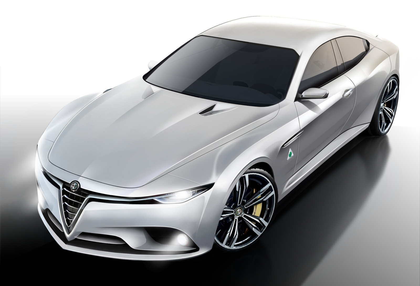 All the world waiting for a new Alfa Romeo 2015 sedan in June! #11