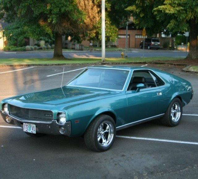 1969 American Motors Amx Information And Photos Momentcar